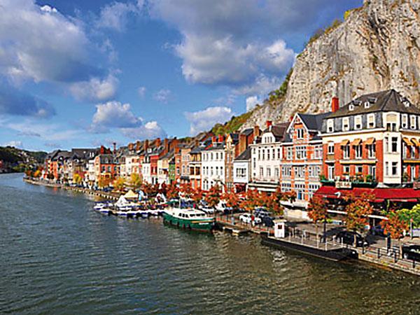 Dinant und die Wassergärten von Annevoie / Belgien Image