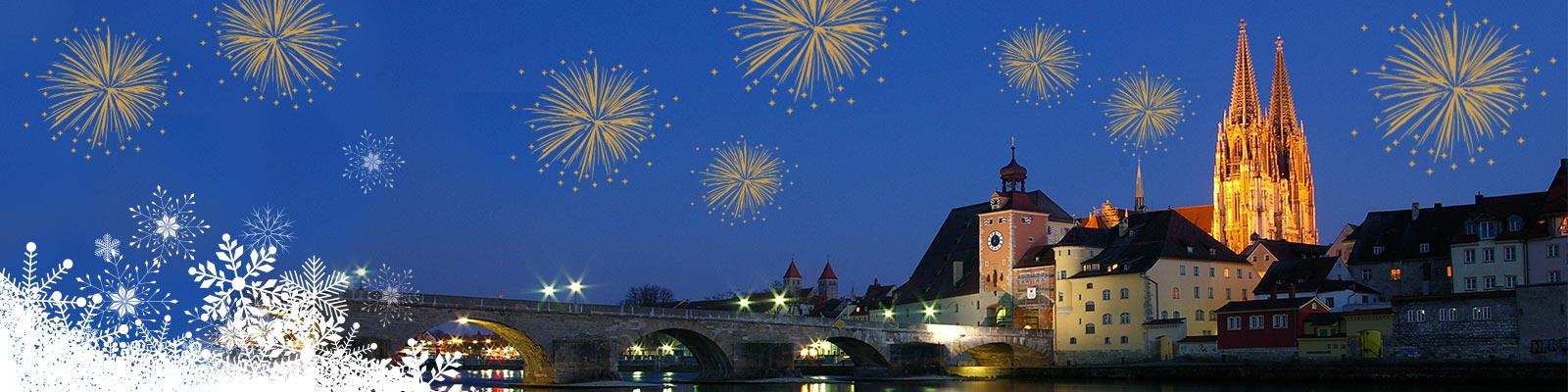 Silvester in Regensburg