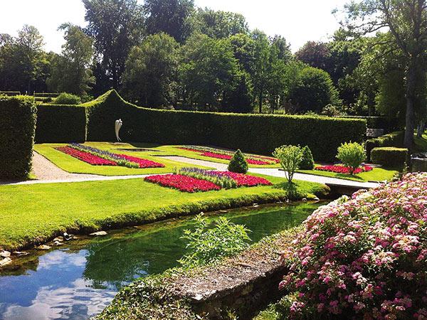 Dinant & die Gärten von Annevoie / Belgien Image
