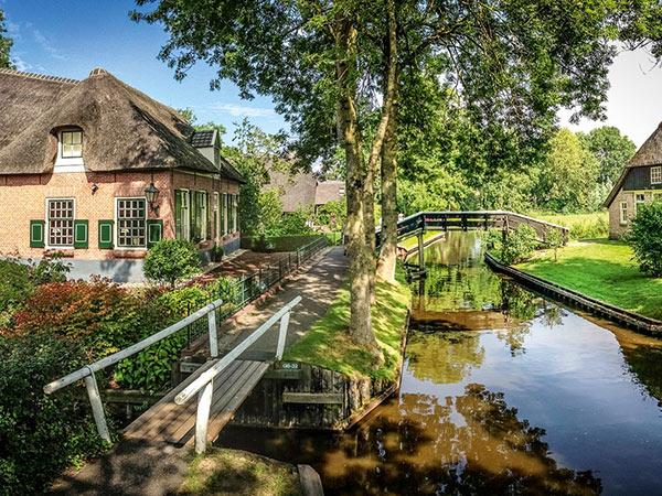 Holland zur Sommerzeit Image