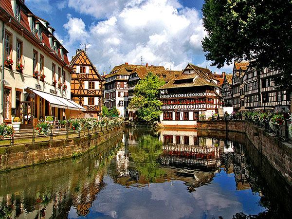 Straßburg und die elsässische Weinstraße Image