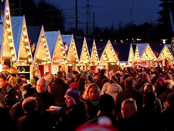 Weihnachtsmarkt CentrO Oberhausen Image