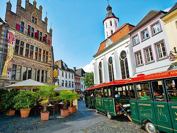 Xanten am stimmungsvollen Niederrhein (Muttertag) Image