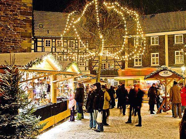 Nostalgischer Weihnachtsmarkt Hattingen Image