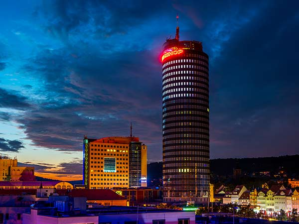 Silvester über den Dächern von Jena Image