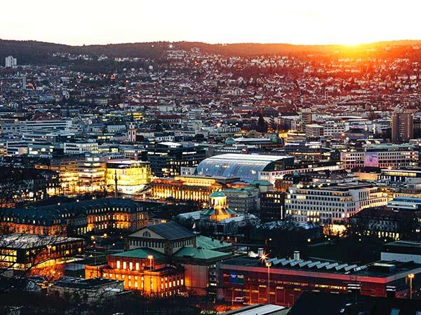 Silvester in Stuttgart und Besuch des Friedrichsbau Varieté Image