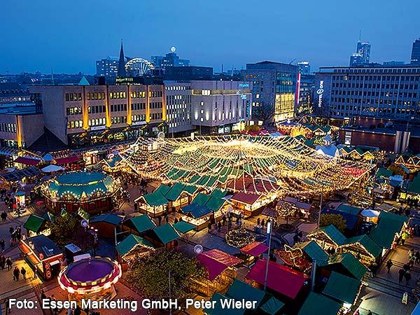 Internationaler Weihnachtsmarkt Essen Image