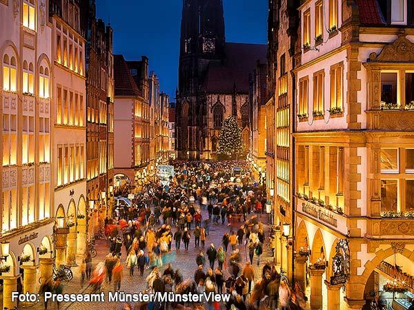 Weihnachtsmarkt Münster Image