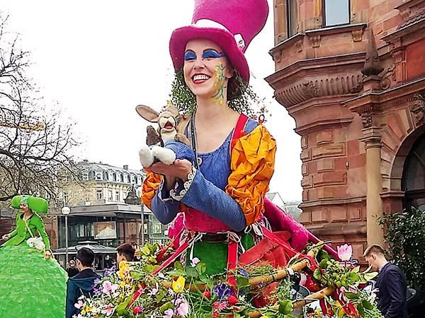 Österlicher Frühjahrsmarkt in Wiesbaden Image