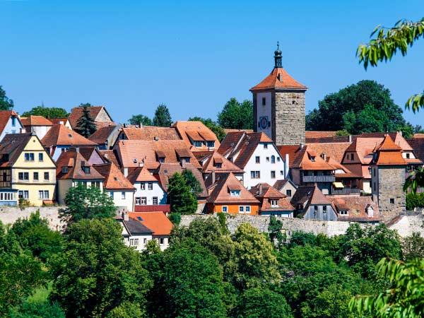 Romantische Straße – Rothenburg ob der Tauber Image